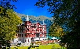 Ξενοδοχείο Custle Στοκ Φωτογραφίες