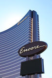 Ξενοδοχείο Encore και χαρτοπαικτική λέσχη στο Λας Βέγκας, Νεβάδα Στοκ εικόνα με δικαίωμα ελεύθερης χρήσης