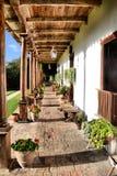 Ξενοδοχείο Hacienda Στοκ Εικόνες