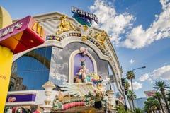 Ξενοδοχείο Harrahs και χαρτοπαικτική λέσχη, Λας Βέγκας Στοκ Φωτογραφίες