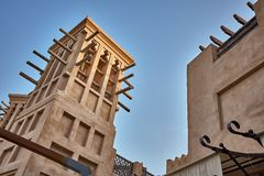 Ξενοδοχείο Jumeirah Madinat Στοκ Φωτογραφίες