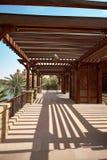 Ξενοδοχείο Jumeirah Madinat Στοκ εικόνες με δικαίωμα ελεύθερης χρήσης