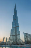 Ξενοδοχείο Khalifa Burj  στοκ εικόνες
