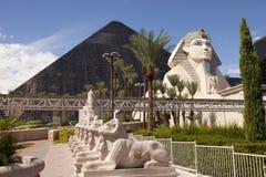 Ξενοδοχείο Luxor και χαρτοπαικτική λέσχη στο Λας Βέγκας, Νεβάδα Στοκ εικόνα με δικαίωμα ελεύθερης χρήσης