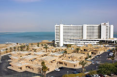 Ξενοδοχείο Plaza Crowne σε Ein Bokek, νεκρή θάλασσα, Ισραήλ Στοκ Φωτογραφίες