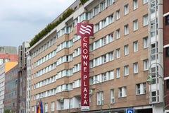 Ξενοδοχείο Plaza Crowne Στοκ εικόνα με δικαίωμα ελεύθερης χρήσης