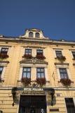 Ξενοδοχείο Pollera στην Κρακοβία Πολωνία Στοκ εικόνες με δικαίωμα ελεύθερης χρήσης