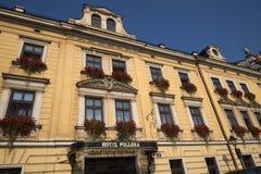 Ξενοδοχείο Pollera στην Κρακοβία Πολωνία Στοκ φωτογραφία με δικαίωμα ελεύθερης χρήσης