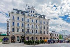 """Ξενοδοχείο """"President† Στοκ Εικόνες"""