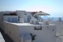 Ξενοδοχείο Santorini Στοκ Εικόνες