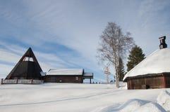 Ξενοδοχείο Storforsen Στοκ Φωτογραφίες