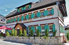 Ξενοδοχείο Vitranc Podkoren, Σλοβενία Στοκ Εικόνα