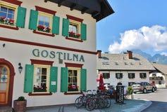 Ξενοδοχείο Vitranc Podkoren, Σλοβενία Στοκ εικόνα με δικαίωμα ελεύθερης χρήσης