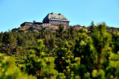 Ξενώνας βουνών Στοκ φωτογραφία με δικαίωμα ελεύθερης χρήσης