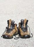 Ξεπερασμένες μπότες Στοκ Φωτογραφίες