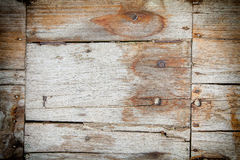 Ξεπερασμένη ξύλινη σύσταση σανίδων Στοκ Εικόνα