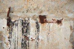 Ξεπερασμένη παλαιά σύσταση τοίχων τσιμέντου στοκ εικόνα