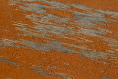 Ξεπερασμένη πορτοκαλιά σύσταση υποβάθρου χρωμάτων ξύλινη Στοκ φωτογραφία με δικαίωμα ελεύθερης χρήσης