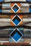 Ξεπερασμένος ξύλινος εξωτερικός πύργος του κτηρίου παγοδών Στοκ Φωτογραφίες
