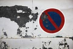 Ξεπερασμένος τοίχος μετάλλων Στοκ φωτογραφία με δικαίωμα ελεύθερης χρήσης