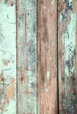Ξεπερασμένο παλαιό ξύλινο φυσικό μπλε τυρκουάζ pe χρωμάτων Στοκ εικόνες με δικαίωμα ελεύθερης χρήσης