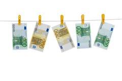 ξεπλυμένα χρήματα Στοκ Φωτογραφίες