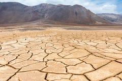 Ξεράνετε τη ραγισμένη γη, Atacama στη Χιλή Στοκ εικόνα με δικαίωμα ελεύθερης χρήσης