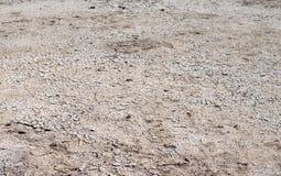 Ξεράνετε το ραγισμένο έδαφος Στοκ Εικόνες