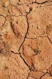 ξεράνετε το χώμα Στοκ φωτογραφία με δικαίωμα ελεύθερης χρήσης