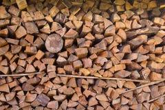 Ξεραίνοντας ξύλο στο σωρό Στοκ φωτογραφίες με δικαίωμα ελεύθερης χρήσης