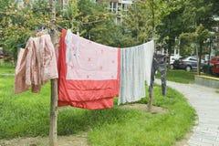 Ξεραίνοντας πλυντήριο Στοκ Εικόνες