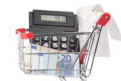 ξεφάντωμα αγορών Στοκ εικόνα με δικαίωμα ελεύθερης χρήσης