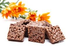 ξεφγμένο σοκολάτα ρύζι Στοκ Εικόνα