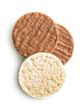 Ξεφγμένο ψωμί ρυζιού με τη σοκολάτα στοκ εικόνες