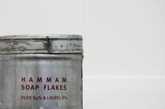 ξεφλουδίζει hamam το σαπούν&io Στοκ Εικόνες