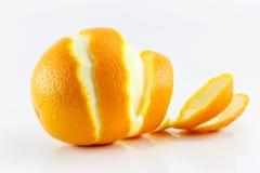 Ξεφλουδισμένος καρπός λεμονιών στοκ φωτογραφία με δικαίωμα ελεύθερης χρήσης