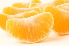 ξεφλουδισμένο tangerine τμημάτων Στοκ Φωτογραφίες