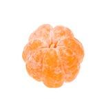 ξεφλουδισμένο tangerine Στοκ Φωτογραφίες