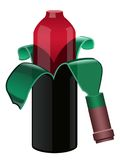 ξεφλουδισμένο κρασί Στοκ Φωτογραφίες