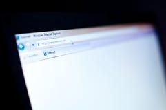 ξεφυλλιστής Διαδίκτυο Στοκ εικόνες με δικαίωμα ελεύθερης χρήσης
