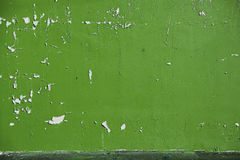Ξεφλουδισμένο υπόβαθρο ανοικτό πράσινο χρώμα ελιών στον τοίχο στοκ εικόνες
