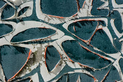 Ξεφλουδισμένο Aqua χρώμα 2 Στοκ φωτογραφίες με δικαίωμα ελεύθερης χρήσης
