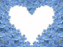 ξεχάστε την καρδιά εγώ όχι Στοκ φωτογραφία με δικαίωμα ελεύθερης χρήσης