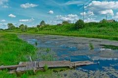 Ξεχασμένη αποβάθρα Στοκ φωτογραφίες με δικαίωμα ελεύθερης χρήσης