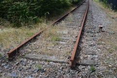 Ξεχασμένος σιδηρόδρομος στοκ εικόνες