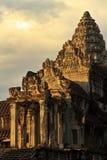 Ξημερώματα σε Angkor Wat, Καμπότζη Στοκ φωτογραφία με δικαίωμα ελεύθερης χρήσης