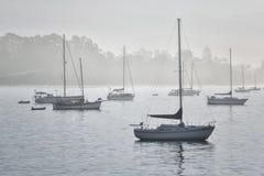 Ξημερώματα σε Santa Barbara Στοκ Φωτογραφίες