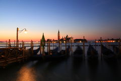 Ξημερώματα στη Βενετία Στοκ Εικόνες