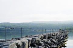 Ξημερώματα στο λιμάνι Στοκ εικόνα με δικαίωμα ελεύθερης χρήσης