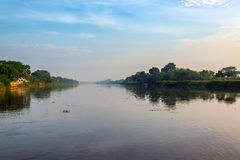 Ξημερώματα Magdalena River Στοκ φωτογραφίες με δικαίωμα ελεύθερης χρήσης